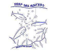 Deep Sea Hunters Photographic Print