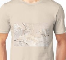 Old cracked paint texture broken wall  Unisex T-Shirt