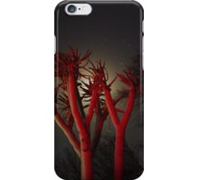 Desert Plant In The Night iPhone Case/Skin