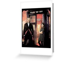 Capaldi Doctor Who Greeting Card