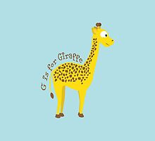 G is for Giraffe by Eggtooth