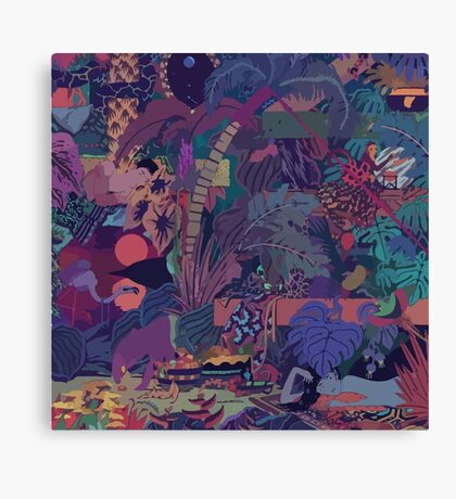 GLASS ANIMALS // ZABA Canvas Print
