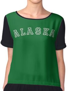Alaska United States of America  Chiffon Top