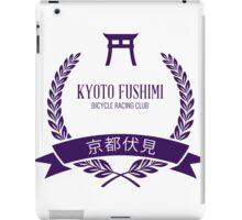 Kyoto Fushimi Bicycle Racing Club iPad Case/Skin