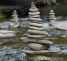 Creek Zen by shamanseyez