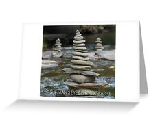 Creek Zen Greeting Card