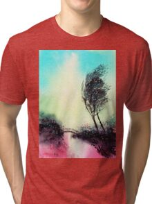 Greeting 1 Tri-blend T-Shirt