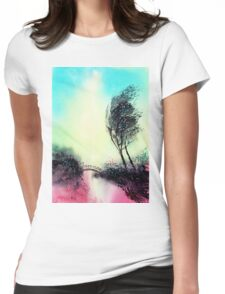 Greeting 1 Womens Fitted T-Shirt