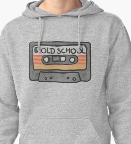 Casette Tape Pullover Hoodie