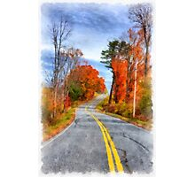 Country Road Take Me Home Photographic Print