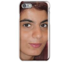 Girl with Red Hair iPhone Case/Skin