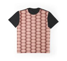 Sepia fuzzy knitted fabric texture Graphic T-Shirt