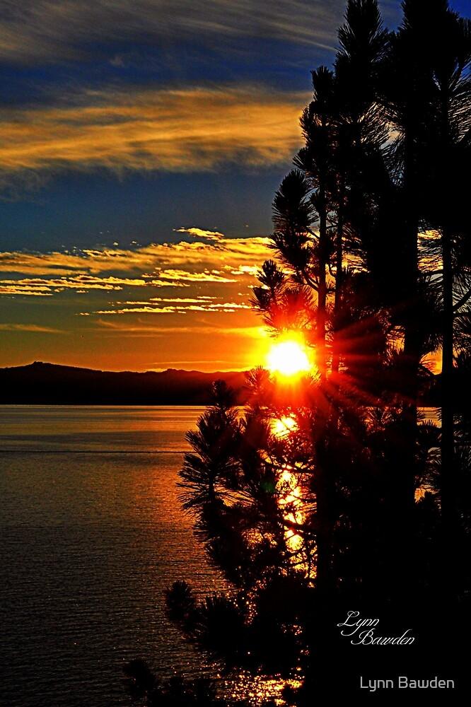 """""""Tahoe Sunset"""" by Lynn Bawden"""