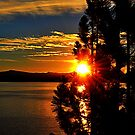 """Tahoe Sunset"" by Lynn Bawden"