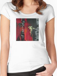 and I saw it through without exemption Women's Fitted Scoop T-Shirt
