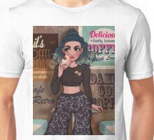 Retro Cafe Unisex T-Shirt