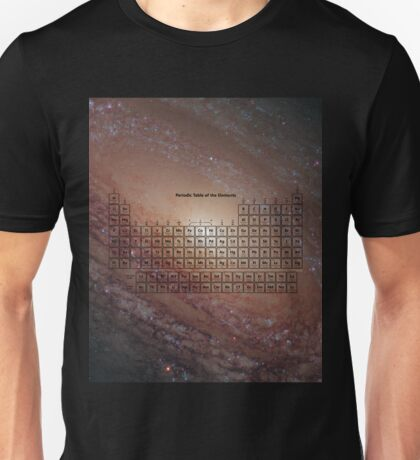 118 Element Galaxy Periodic Table T-Shirt