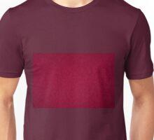 Dark red ragged cardboard texture Unisex T-Shirt