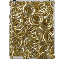 Many Golden Rings iPad Case/Skin