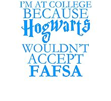 Harry Potter College Problems Photographic Print