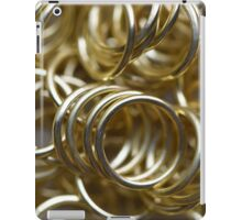 Golden Rings iPad Case/Skin