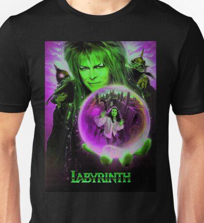 The Labyrinth enhanced edit.  Unisex T-Shirt