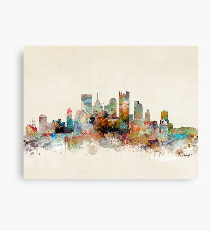 pittsburgh pennsylvania Canvas Print