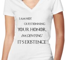 Honor - Tyrion lannister Women's Fitted V-Neck T-Shirt