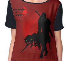 The Forces of Darkness Chiffon Top