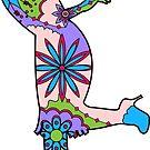 Woman dance Charlestone by Marishkayu