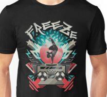 FREEZE (Black) Unisex T-Shirt