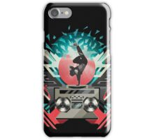 FREEZE (Black) iPhone Case/Skin