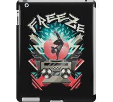 FREEZE (Black) iPad Case/Skin