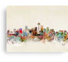 seattle city skyline Canvas Print
