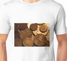 Old Coins Unisex T-Shirt
