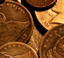 Old Coins Sticker