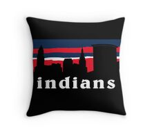 Indians Throw Pillow