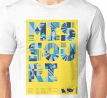 Typographic Missouri State Poster Unisex T-Shirt