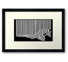 BLACK&WHITE Framed Print