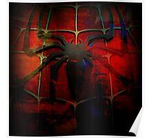 Grunge Spider Man Poster