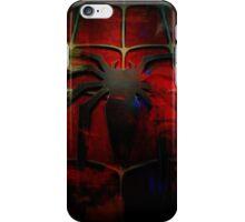 Grunge Spider Man iPhone Case/Skin