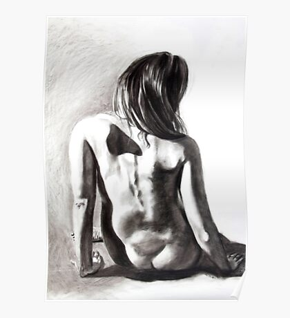 Gray Nude Poster