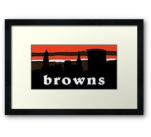 Browns  Framed Print