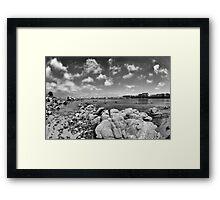 Monterey Bay, CA Framed Print