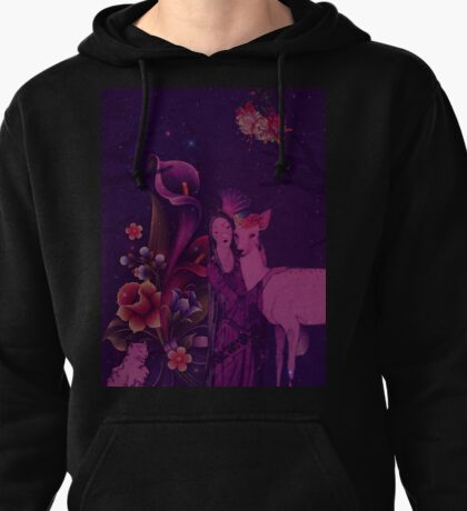 Once Upon A Purple Time Pullover Hoodie
