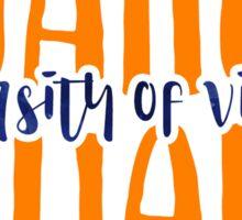 University of Virginia - Style 9 Sticker