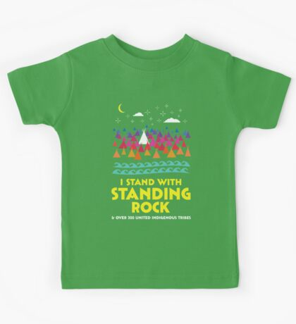 Stand With Standing Rock Shirt Kids Tee