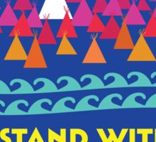 Stand With Standing Rock Shirt Sticker