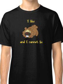I Like Bidoof and I Cannot Lie Classic T-Shirt