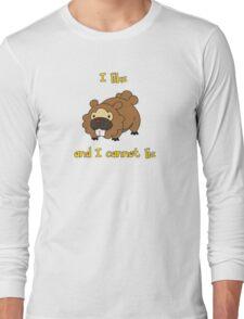 I Like Bidoof and I Cannot Lie Long Sleeve T-Shirt